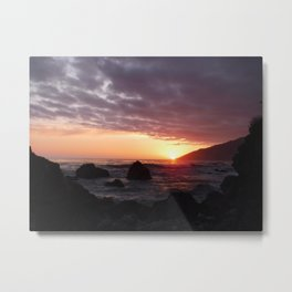 Beauty of the setting sun Metal Print