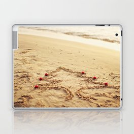 Merry Christmas! - Christmas at the beach Laptop & iPad Skin
