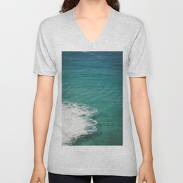 Crystal Clear Ocean View Unisex V-Neck