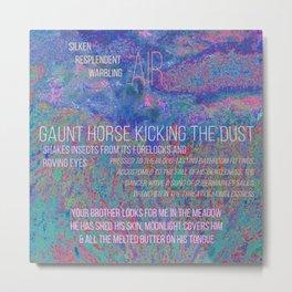gaunt horse Metal Print