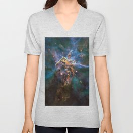Mystic Mountain Unisex V-Neck