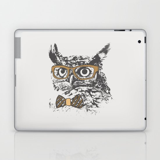 Hipsters are a Hoot Laptop & iPad Skin