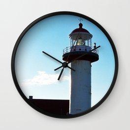 Lighthouse Cap de Madelaine Wall Clock
