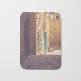 Old Jaffa's Streets Bath Mat