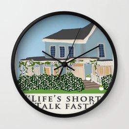 Life's short, talk fast! Wall Clock