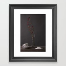Sugar Still Framed Art Print