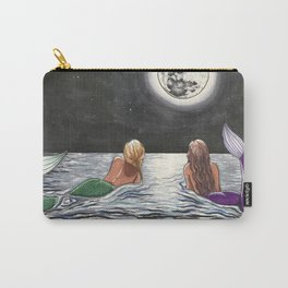 Mermaid Moon Carry-All Pouch