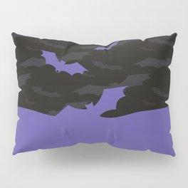 Flying Bats Pillow Sham