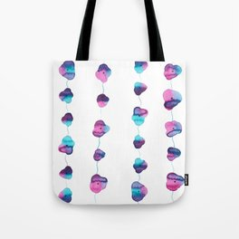 String of Life ~ Flowers ~ Watercolor Painting ~ By Sky Marcano Tote Bag