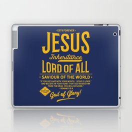 JESUS - Lord of All (Navy) Laptop & iPad Skin