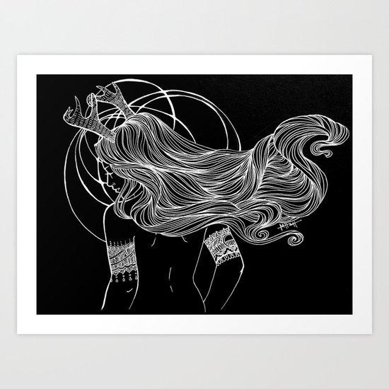 As the Deer Art Print