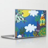 greece Laptop & iPad Skins featuring Greece by Marijke Buurlage
