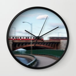 Boston (7 of 8) Wall Clock
