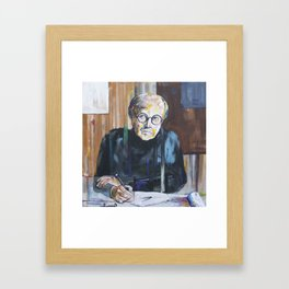 The Architect Framed Art Print