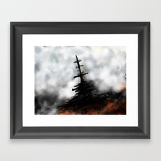 Anchorage Framed Art Print