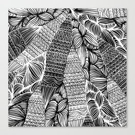 Layered surf Canvas Print