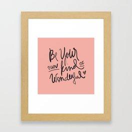 BYOKOW Framed Art Print