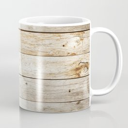 Vintage Wood Coffee Mug
