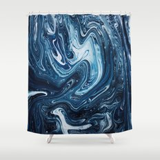 Gravity III Shower Curtain