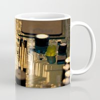 technology Mugs featuring Sunset Technology by Encore Designs