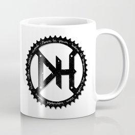 Downhill chainring Coffee Mug