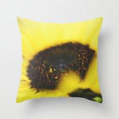 Macro Flower 02 Throw Pillow