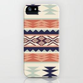 Native American Geometric Pattern iPhone Case