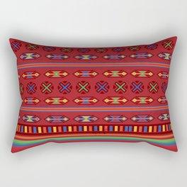 Mexican Mood Rectangular Pillow
