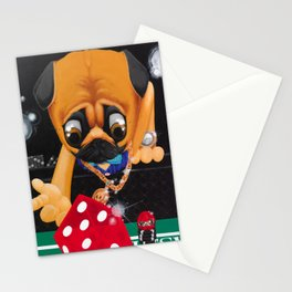 Pugsy the Playa Stationery Cards