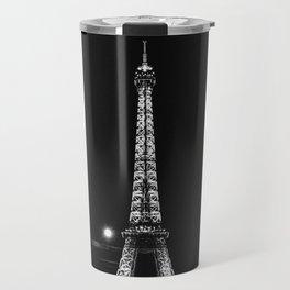 Tour Eiffel Noir Et Blanc Travel Mug