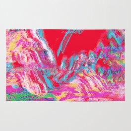 Glitch Mountain Rug