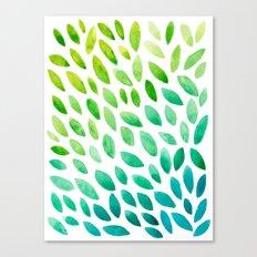 Leafy Canvas Print