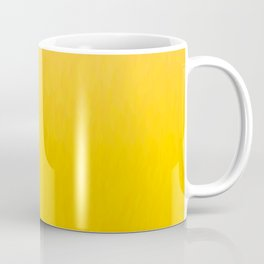 Golden orange and honey yellow ombre flames texture Coffee Mug