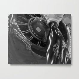 The Mighty Radial Metal Print