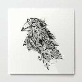 bird lines Metal Print