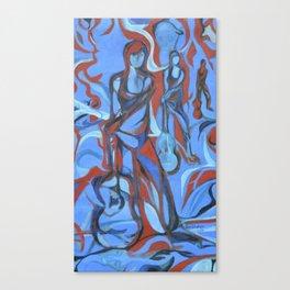 A night in Santa Fe Canvas Print