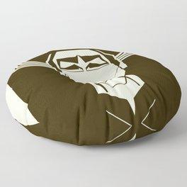 The World Shall Hear From Me Again! Floor Pillow