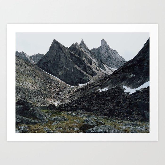 Arrigetch Art Print