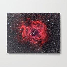 Rosette Nebula Metal Print