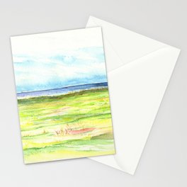 Sea meadow Stationery Cards