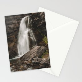 Saint Mary's Falls in Glacier  Stationery Cards