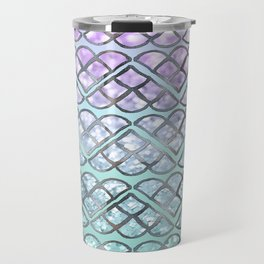 MERMAID Glitter Scales Dream #2 #shiny #decor #art #society6 Travel Mug