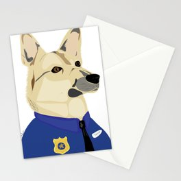 Officer Taylor Stationery Cards