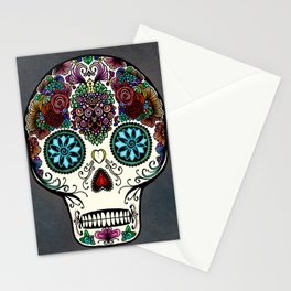 Día de Muertos Stationery Cards