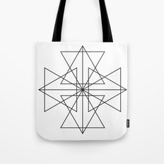 Triangle Love Tote Bag