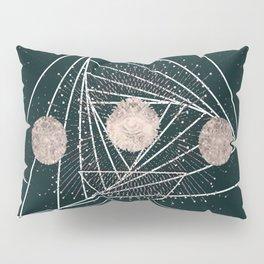 Moon Matrix Pillow Sham