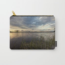 sunset on south bay Carry-All Pouch