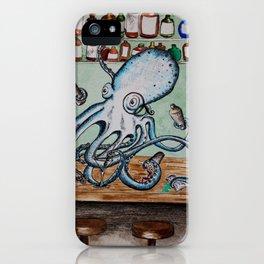 Octobartender iPhone Case