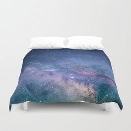Milky Way Stars (Starry Night Sky) Duvet Cover