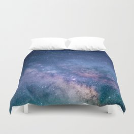 Milky Way Stars (Starry Night Sky) Duvet Cover